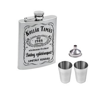 Whiskys flaska szett születésnapra