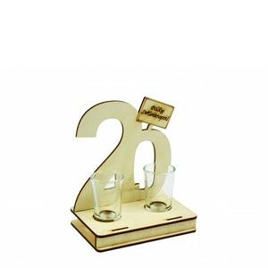 Fa italszett - 20. Születésnapra