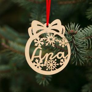 Fa karácsonyfadísz – Apa