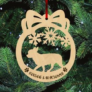 Fa karácsonyfadísz - Csivava