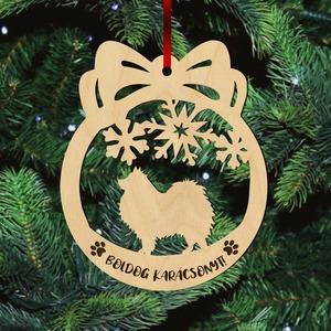 Fa karácsonyfadísz – Spicc