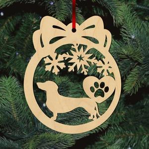 Fa karácsonyfadísz – I Love Tacsi