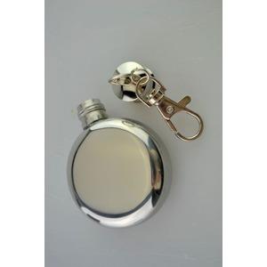 Mini flaskla kulcstartó