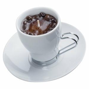 Espresso illatgyertya csészében