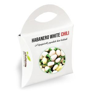 Habanero white chili paprika növényem díszdobozban