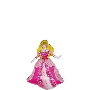 Hercegnő fólia lufi