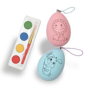 Festhető húsvéti tojás vízfestékkel