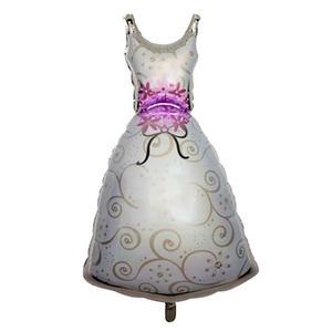 Menyasszonyi ruha fólia lufi