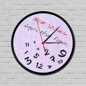 Mindig késők órája