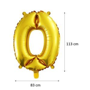 Óriás számos fólia lufi - 0