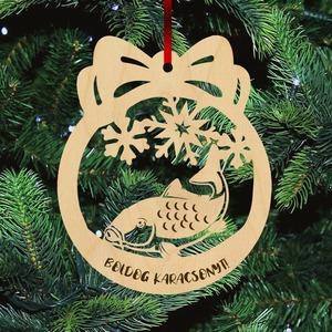 Fa karácsonyfadísz - Ponty