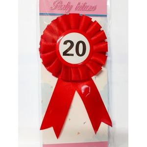 Party kitűző - 20