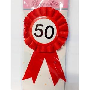 Party kitűző - 50