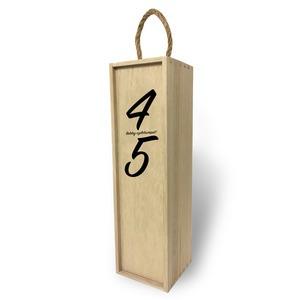 Fa bortartó doboz - Születésnapra számokkal