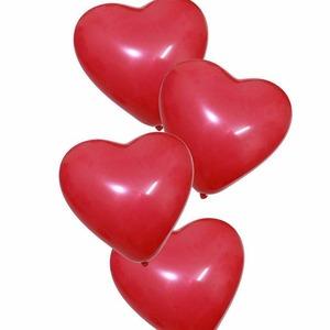 Szív alakú lufi 8db