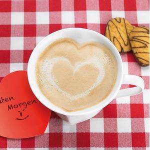 Szív alakú csésze