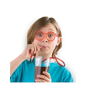 Szívószál szemüveg