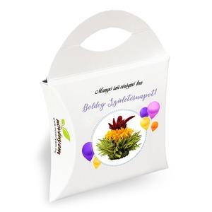 Boldog Születésnapot! virágzó tea