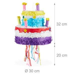 Szülinapi Torta Pinata húzós kivitel