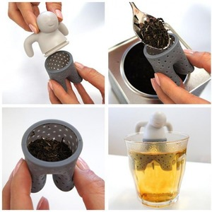 Teafilter - szilikon ember