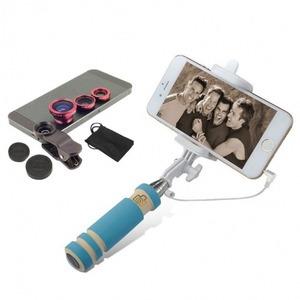 Univerzális objektív telefonhoz szelfibottal