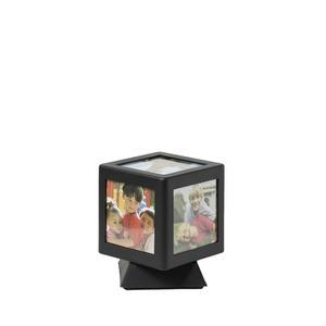 Forgó kocka képkeret világítással