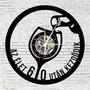 Bakelit falióra - Boros pohár 60